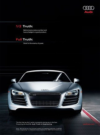 Audi Coupe Automotive branding in Thailand