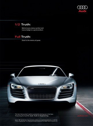 Audi Automotive Digital Marketing Campaign in Thailand and Singapore media
